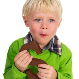 Eating Dutch Sinterklaas candy
